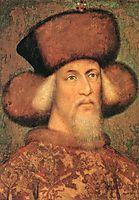 Portrait of Emperor Sigismund of Luxembourg, 1433, pisanello