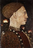 Portrait of Leonillo d-Este, pisanello