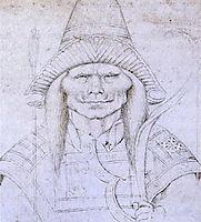Study of a Head, 1436, pisanello
