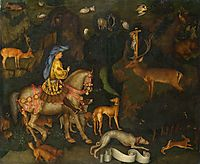 The Vision of Saint Eustace, 1438, pisanello