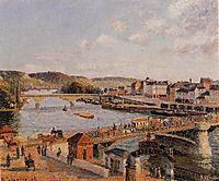 Afternoon, Sun, Rouen, 1896, pissarro