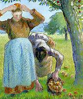 Apple Gatherers, 1891, pissarro