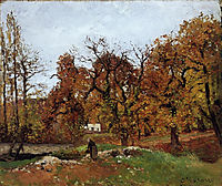 Autumn Landscape, near Pontoise, c.1872, pissarro
