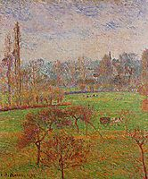 Autumn Morning, 1892, pissarro