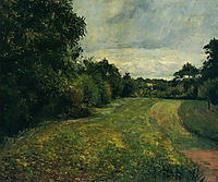 The backwoods of St. Antony, Pontoise, 1876, pissarro