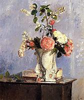 Bouquet of Flowers, 1873, pissarro