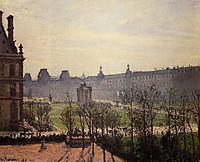 The Carrousel, Autumn, Morning, 1899, pissarro