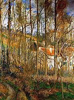 The Cote des Boeurs at l-Hermitage, near Pontoise, 1877, pissarro