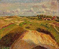 The Dunes at Knocke, Belgium, 1902, pissarro