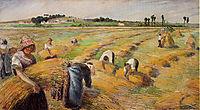 The Harvest, 1882, pissarro