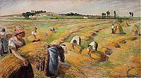 Harvesting, 1882, pissarro