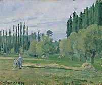 Haymaking, 1874, pissarro
