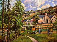The Hermitage at Pontoise, 1874, pissarro