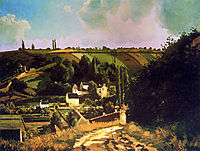 Hill of Jallais at Pontoise, pissarro