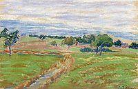 The Hills of Thierceville, c.1890, pissarro