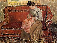 Jeanne Coushant, 1900, pissarro