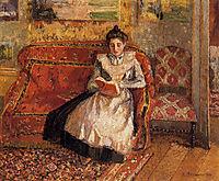 Jeanne Reading, 1899, pissarro