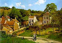 L-Hermitage at Pontoise, c.1867, pissarro
