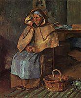 La Mere Gaspard, 1876, pissarro