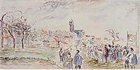 La Saint Martin a Pontoise, c.1885, pissarro