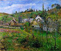 Le Valhermeil, near Pontoise, 1880, pissarro