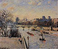 The Louvre, 1902, pissarro