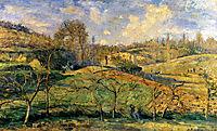 March Sun, Pontoise, 1875, pissarro