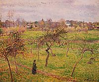 The Meadow at Eragny, 1894, pissarro