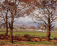 Near Sydenham Hill, Looking towards Lower Norwood, 1871, pissarro