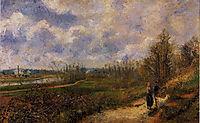 Path to Le Chou, Pontoise, 1878, pissarro