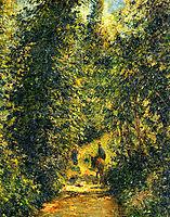 Path under the Trees, Summer, pissarro