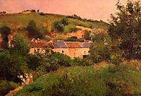 The Path in the Village, 1875, pissarro