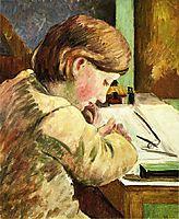 Paul Writing, pissarro