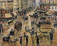 Place du Havre, Paris, 1897, pissarro