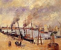 The Port of Le Havre 2, 1903, pissarro