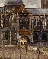 Portal from the Abbey Church of Saint Laurent, 1901, pissarro