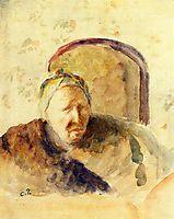 Portrait of the Artist-s Mother, c.1888, pissarro