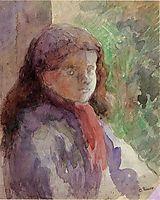 Portrait of the Artist-s Son, Ludovic Rudolphe, c.1888, pissarro