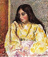 Portrait of Jeanne, pissarro