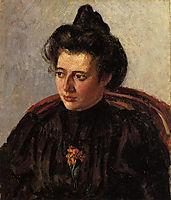 Portrait of Jeanne, c.1898, pissarro