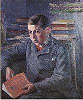 Portrait of Paulemile, c.1899, pissarro