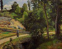The Quarry, Pontoise, c.1875, pissarro