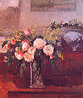 The Roses of Nice, 1902, pissarro
