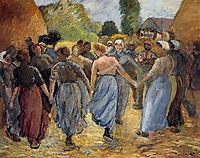 The Roundelay, 1892, pissarro
