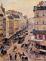Rue Saint Lazare, 1897, pissarro