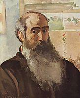 Self-portrait, 1873, pissarro