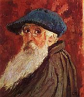 Self Portrait, c.1900, pissarro