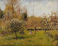 Spring at Eragny, pissarro