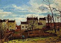 Spring at Pontoise, 1872, pissarro