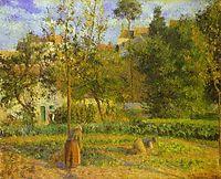 Vegetable Garden at Hermitage near Pontoise, 1879, pissarro